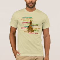 "Scooby-Doo Running ""Where Are You?"" T-Shirt"