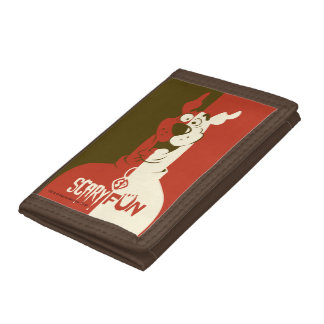 """Scooby-Doo """"Scary Fun"""" Trifold Wallet"""