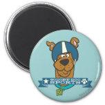 "Scooby Doo ""Scooby-Doo se divierte "" Imán Redondo 5 Cm"