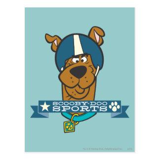 """Scooby Doo """"Scooby-Doo se divierte """" Postal"""