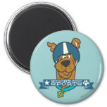 "Scooby Doo ""Scooby-Doo Sports"" 2 Inch Round Magnet"