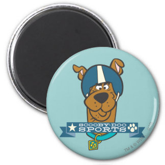 """Scooby Doo """"Scooby-Doo Sports"""" 2 Inch Round Magnet"""