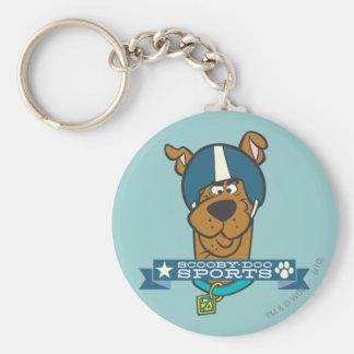 "Scooby Doo ""Scooby-Doo Sports"" Basic Round Button Keychain"