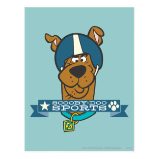 "Scooby Doo ""Scooby-Doo Sports"" Postcard"