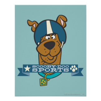"Scooby Doo ""Scooby-Doo Sports"" Poster"