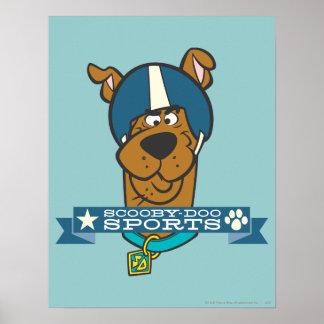 "Scooby Doo ""Scooby-Doo Sports"" Print"