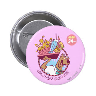 """Scooby Doo """"Scooby Snacks"""" 2 Inch Round Button"""