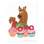 Scooby Doo - Scooby XOXO Cupcakes Post Card
