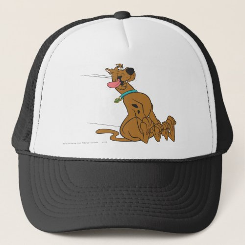 Scooby_Doo Slide With Tongue Out Trucker Hat