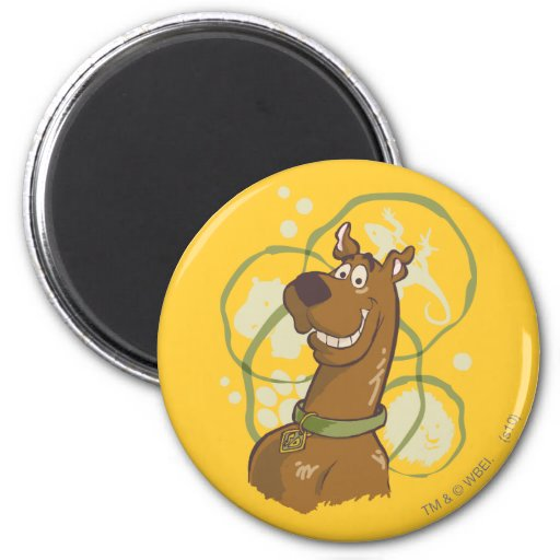 Scooby Doo Smile Magnet