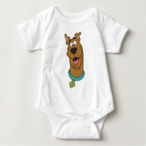 Scooby-Doo Smiling Face Baby Bodysuit