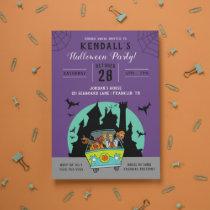 Scooby-Doo Spooktacular Halloween Party Invitation