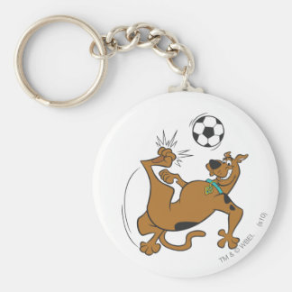 Scooby Doo Sports SDX Pose 6 Basic Round Button Keychain