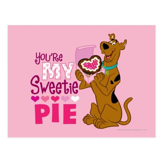 Scooby Doo - Sweetie Pie Postcard