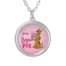 Scooby Doo - Sweetie Pie Silver Plated Necklace at Zazzle