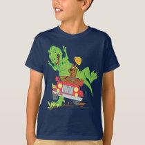 Scooby-Doo T-Rex Attack T-Shirt