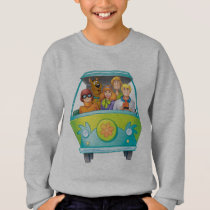 Scooby-Doo & The Gang Mystery Machine Airbrush Sweatshirt