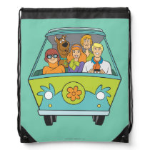 Scooby-Doo & The Gang Mystery Machine Drawstring Backpack