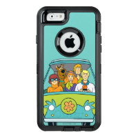 Scooby-Doo & The Gang Mystery Machine OtterBox Defender iPhone Case