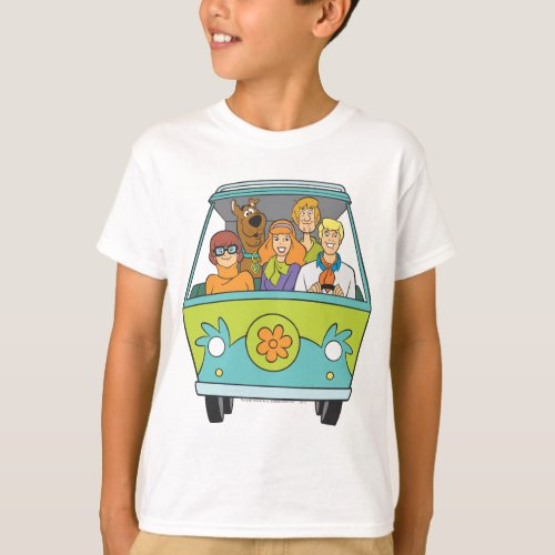 Scooby_Doo  The Gang Mystery Machine T_Shirt