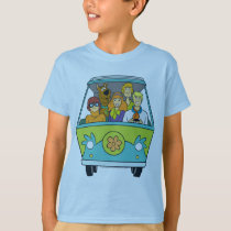 Scooby-Doo & The Gang Mystery Machine T-Shirt