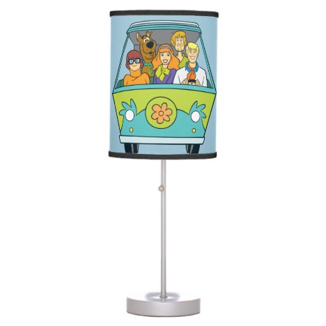 Scooby-Doo & The Gang Mystery Machine Table Lamp
