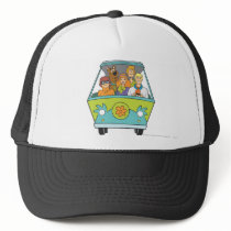 Scooby-Doo & The Gang Mystery Machine Trucker Hat