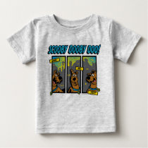 Scooby-Doo Where Are You Comic Panels Baby T-Shirt