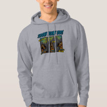Scooby-Doo Where Are You Comic Panels Hoodie