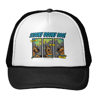 Scooby-Doo Where Are You Comic Panels Trucker Hat