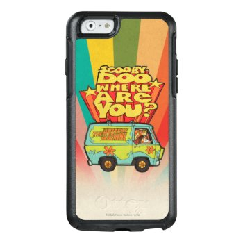 """Scooby-doo   """"where Are You?"""" Retro Cartoon Van Otterbox Iphone 6/6s Case by scoobydoo at Zazzle"""