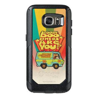 "Scooby-Doo | ""Where Are You?"" Retro Cartoon Van OtterBox Samsung Galaxy S7 Case"