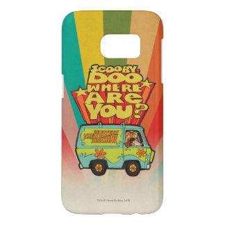 "Scooby-Doo | ""Where Are You?"" Retro Cartoon Van Samsung Galaxy S7 Case"