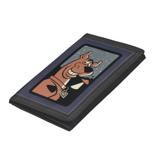 Scooby-Doo With UFO Trifold Wallet