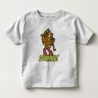 ¡Scooby-Doo y Zoinks lanudo! Playera De Bebé