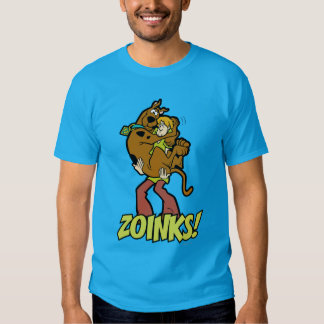 ¡Scooby-Doo y Zoinks lanudo! Poleras