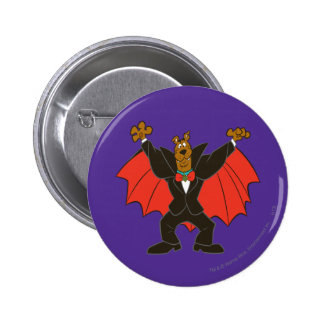 Scooby Dracula Button