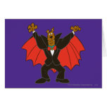 Scooby Dracula Card