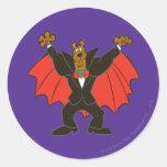 Scooby Drácula Pegatina