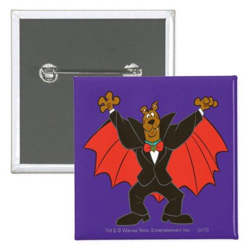 Scooby Drácula Pins