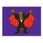 Scooby Drácula Postal