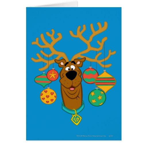 Scooby el reno tarjeton