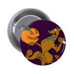 Scooby Halloween 07 Pin Redondo De 2 Pulgadas