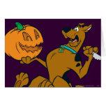 Scooby Halloween 07 Tarjeta De Felicitación