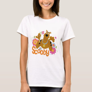 Scooby in Flowers T-Shirt