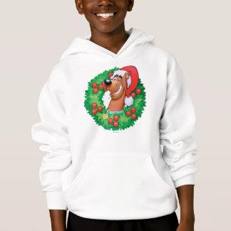 Scooby in Wreath Hoodie