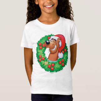 Scooby in Wreath T-Shirt