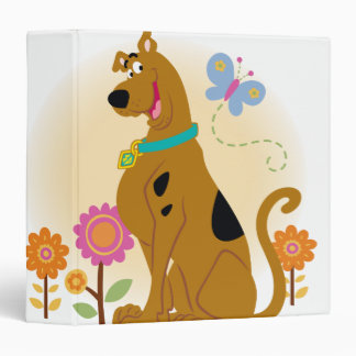 Scooby Mouth Opened Smile 3 Ring Binder