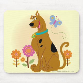 Scooby Mouth Opened Smile Mouse Pad