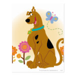 Scooby Mouth Opened Smile Postcard